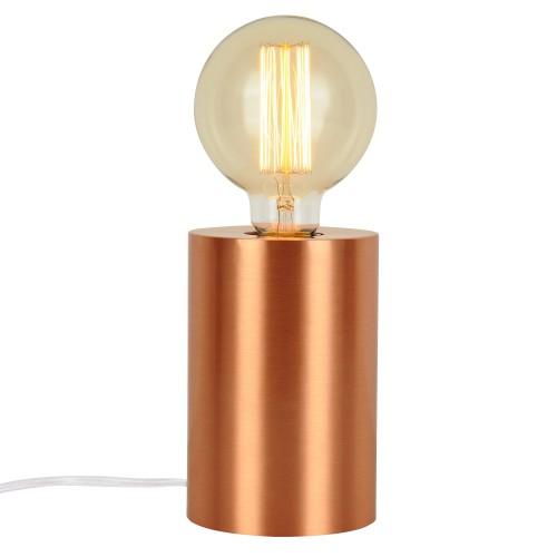 Lampe à poser tactile Hera cuivre (ampoule incluse)