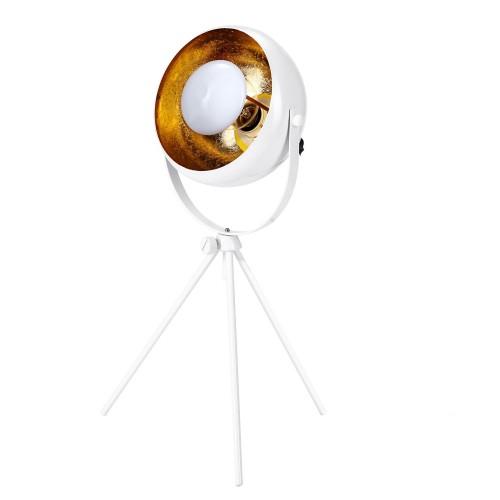 acheter lampe a poser metal blanc