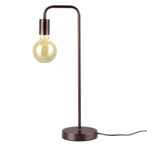 Lampe à poser Ysé bronze (ampoule incluse)