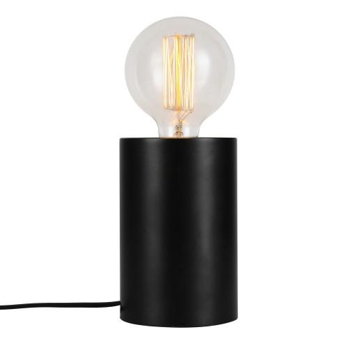 Lampe à poser tactile Héra noire (ampoule incluse)