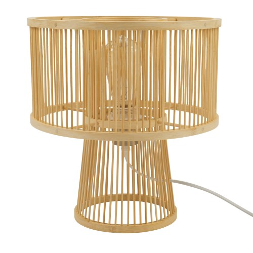 Lampe à poser Totem en bambou