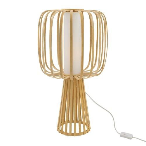 Lampe à poser Gina en bambou