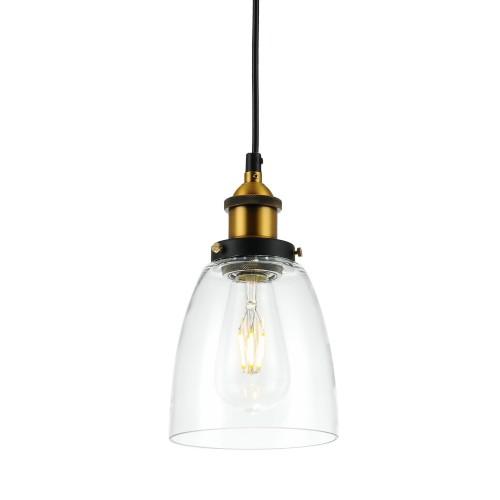 acheter lampe suspendue transparente
