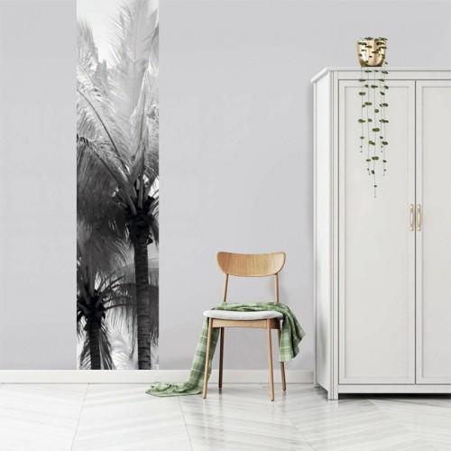 acheter le vertical 60 x 270 cm noir palmier