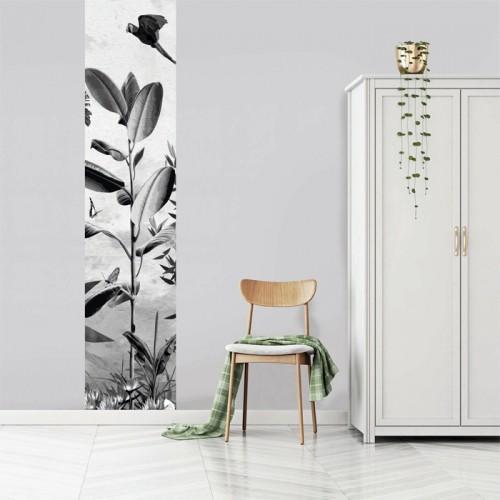 acheter le vertical noir et blanc feuille