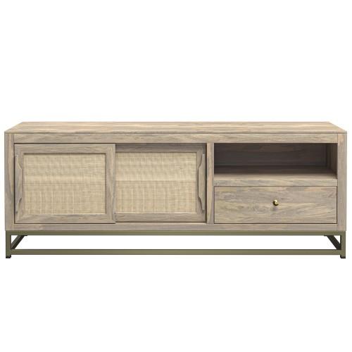 acheter meuble tv boheme chic naturel