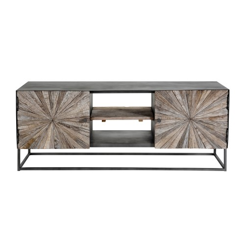 acheter meuble tv bois metal
