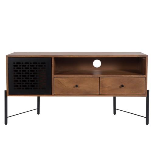acheter meuble tv en bois de manguier