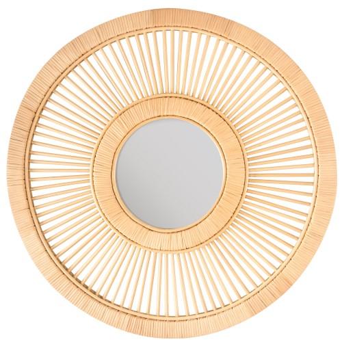 Miroir en rotin Kate Ø 71,5 cm
