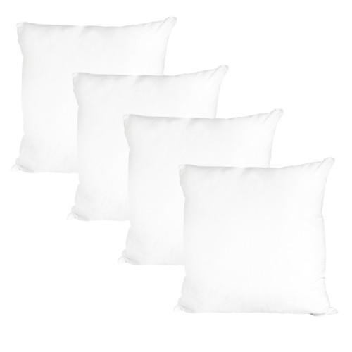 acheter oreiller blanc lot de 4-confort