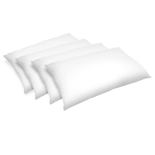acheter oreiller fibre creuse 50 x 70 cm lot de 4