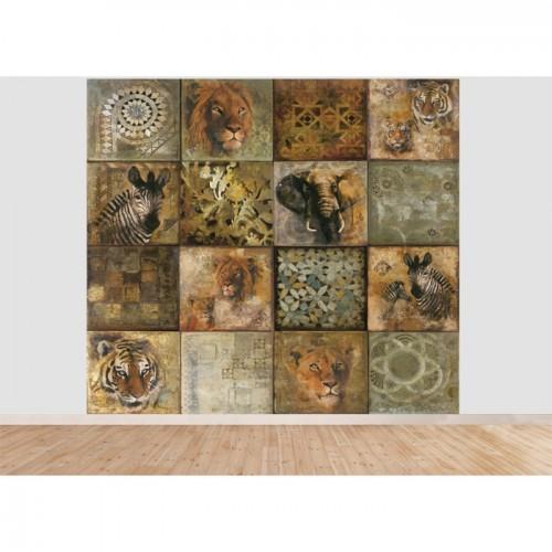 acheter papier peint animaux safari panoramique