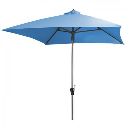 acheter parasol 2 x 2 bleu