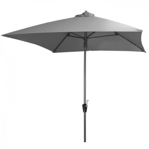 acheter parasol 2 x 2 gris