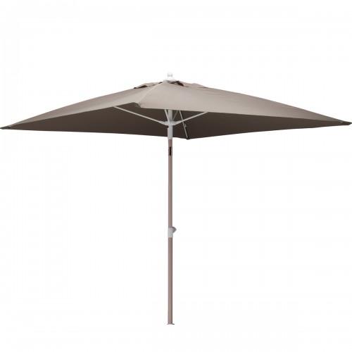 acheter parasol 2 x 2 taupe