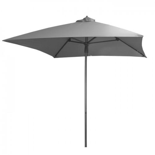 acheter parasol gris 2 m