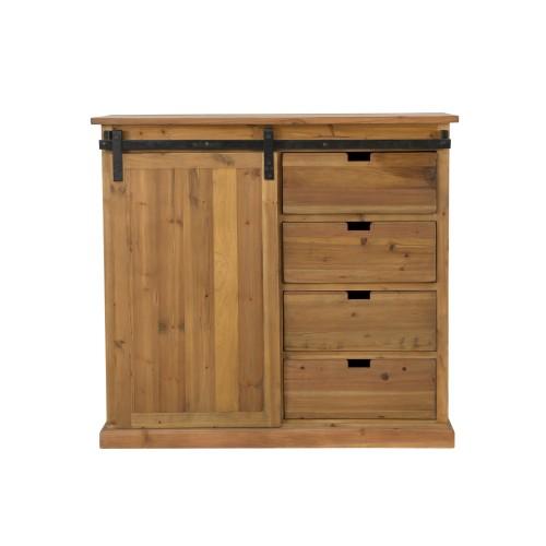 acheter petit buffet d appoint en bois de cedre recycle