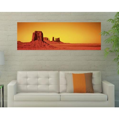 acheter poster horizontal 150x50 cm desert pas cher prix usine
