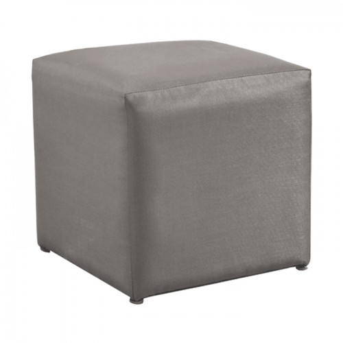 acheter pouf carre taupe