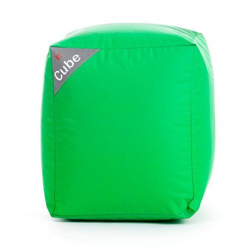 Pouf Cube vert