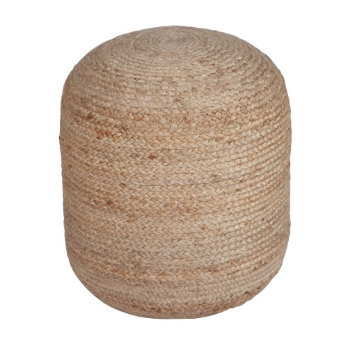 Pouf Betty en jute