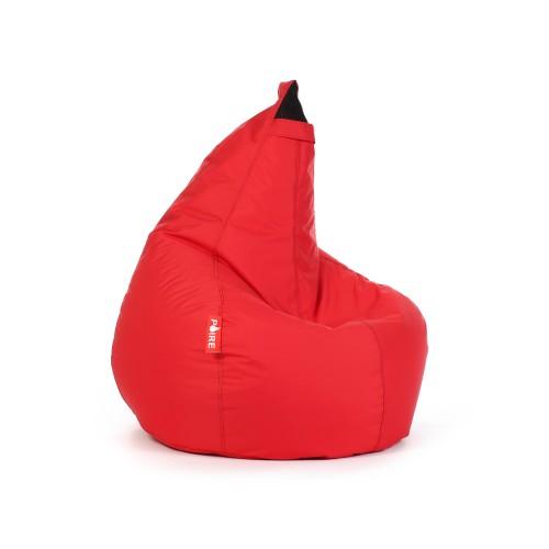 Pouf Moune rouge