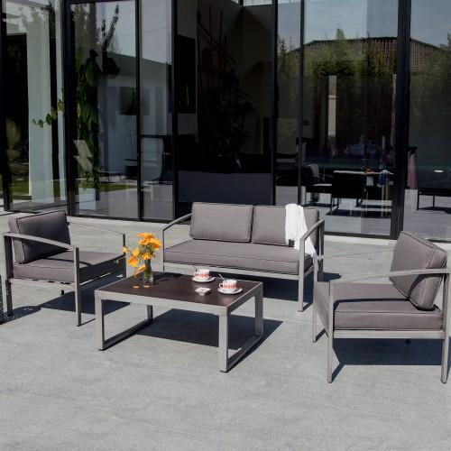 Salon de jardin Toluca gris : installez nos salons de jardin Toluca ...