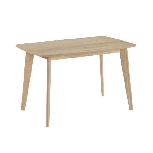 Table rectangulaire Oman 120 cm en bois clair