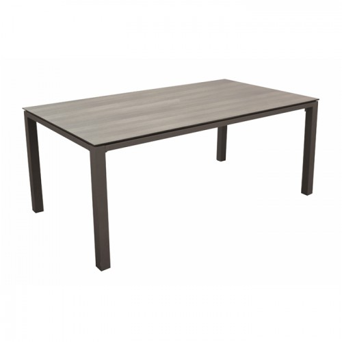 Table de jardin Stonéo café 180 cm