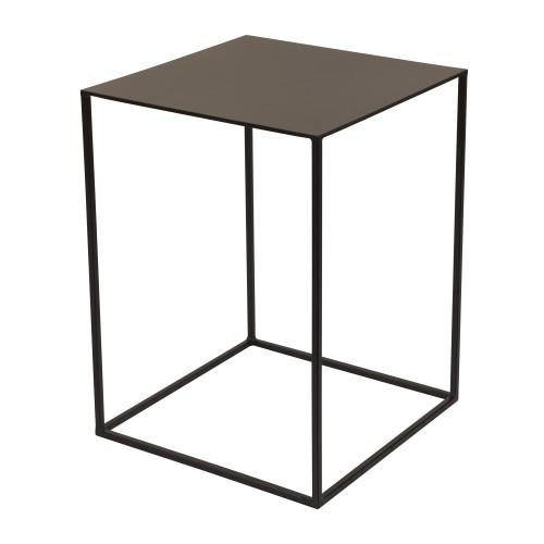 acheter table appoint en metal noir