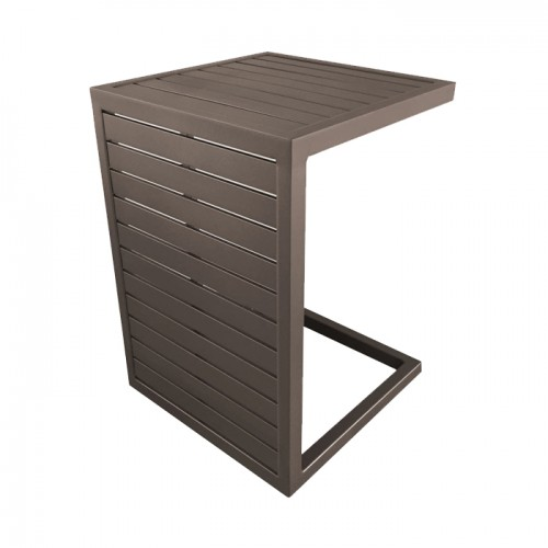 Table basse café en aluminium Lou