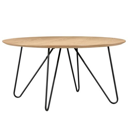 acheter table basse bois metal