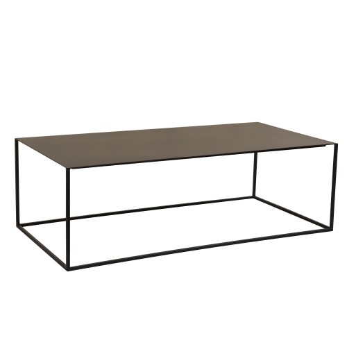 Table basse Cola rectangulaire noire