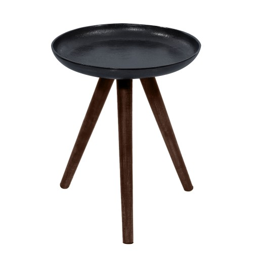 Table basse ronde Toluk noire