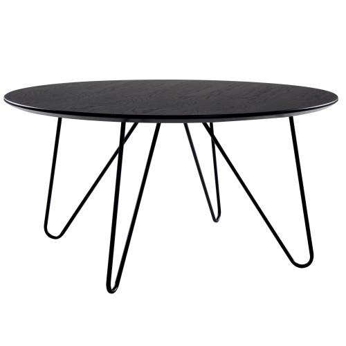 Table Basse Ronde Alta Noire Commandez Nos Tables Basses Rondes