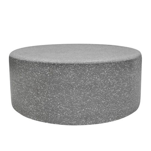 Table basse Pampa en terrazzo ∅ 90 cm