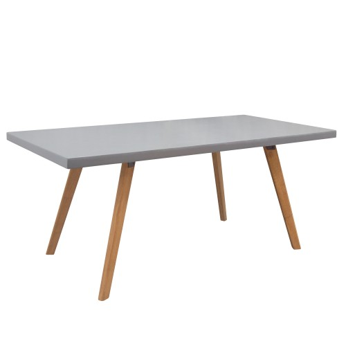 Table rectangulaire Clyde 180 cm en béton