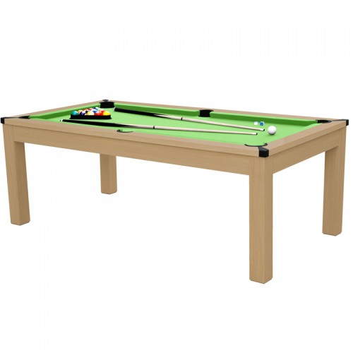 Table transformable Stan multi jeux 3 en 1