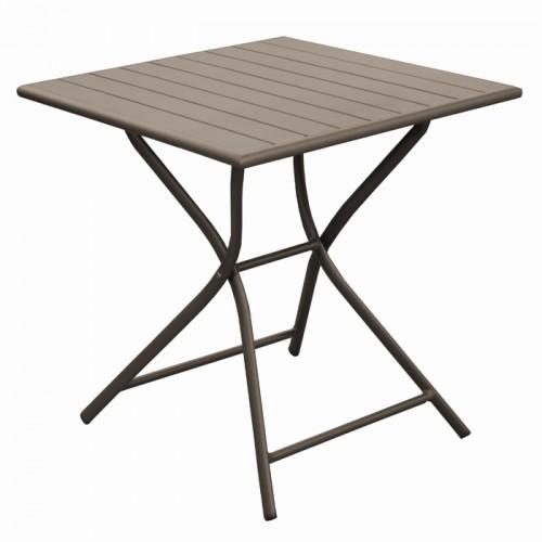 acheter table carree cafe de jardin