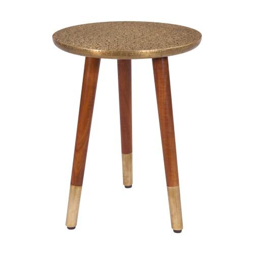 acheter table d appoint dore et bois