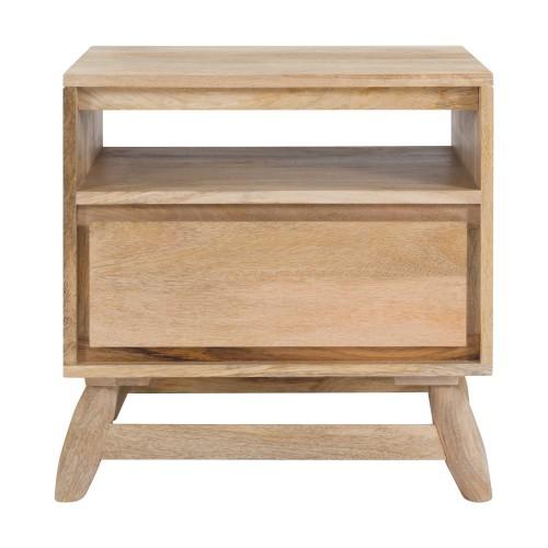 acheter table de chevet en bois clair