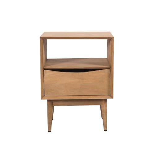 acheter table de chevet en bois de manguier