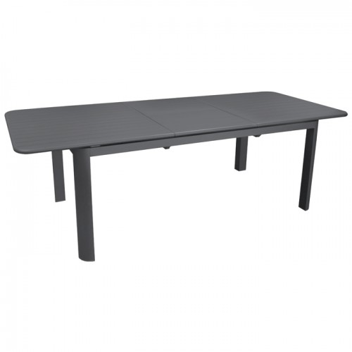 Table de jardin Eos extensible grise 180/240cm