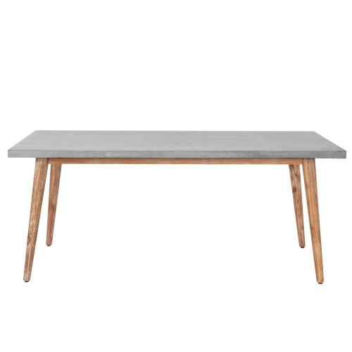Table en lavastone rectangulaire Nosara 180 cm