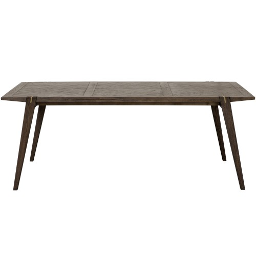 Table Jafar rectangulaire en bois 200 cm
