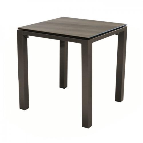 Table de jardin Stonéo café 90 cm