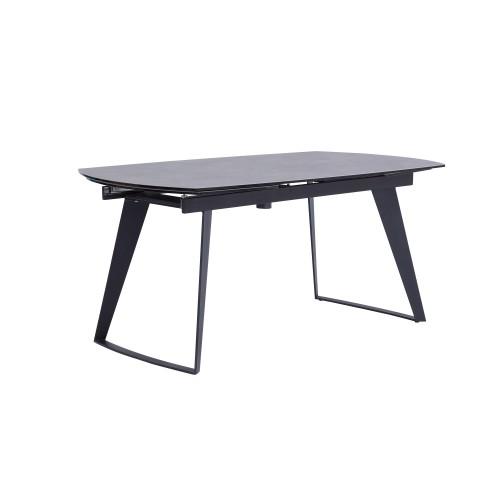 acheter table de repas extensible grise