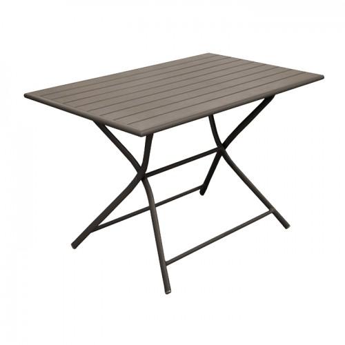 acheter table de repas rectangulaire exterieur