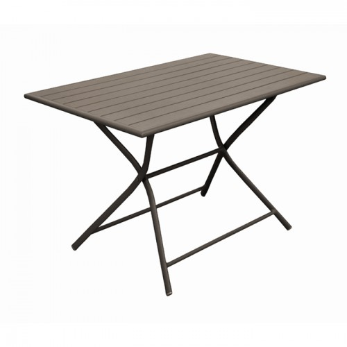 acheter table de repas rectangulaire jardin