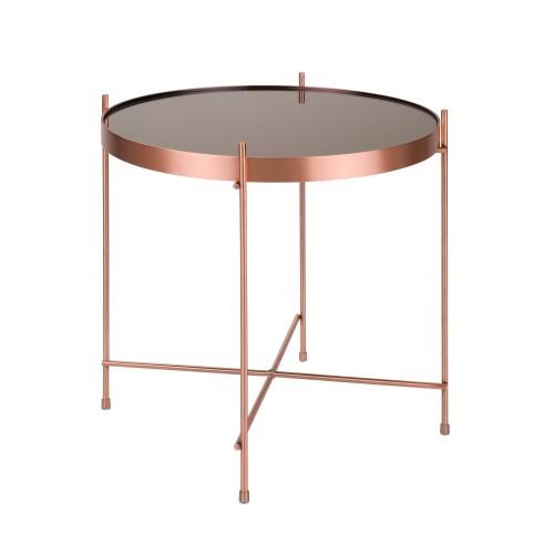 acheter table design basse cuivre